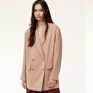 Aritzia Wilfred Cherrelle Jacket Oversized Blazer
